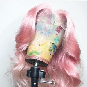 """18"""" Pastel Color Front Lace Wig Choose any color"""